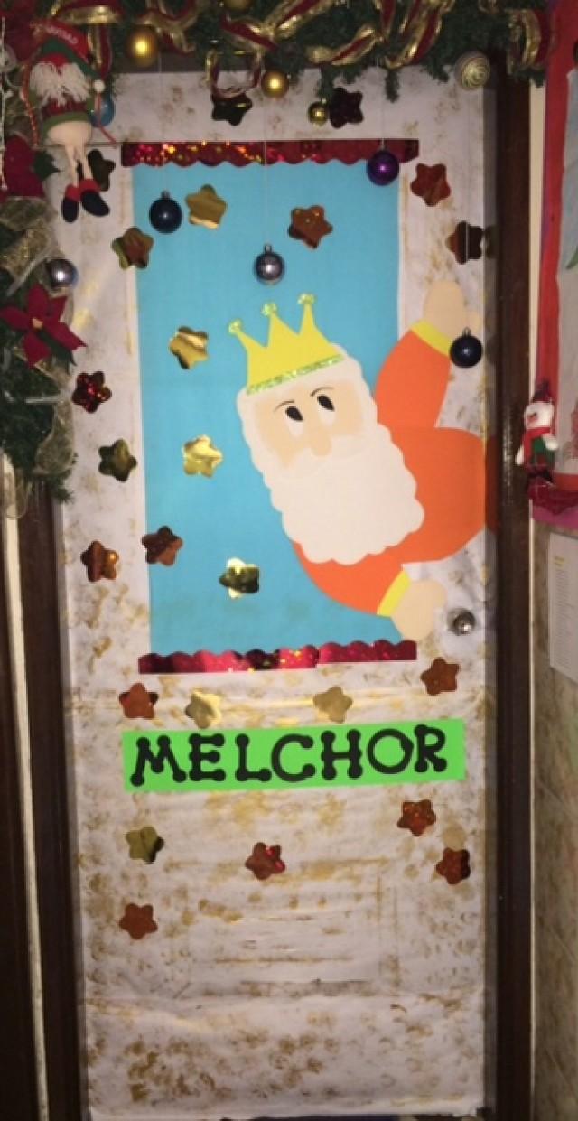 Puertas navideñas - colegio la epifania - Eucaristia, Hogar y Cultura